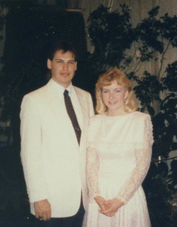 First date.  I may have been young and stupid, but I still chose wisely.