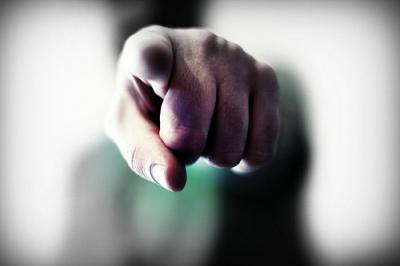 shame pointing-finger