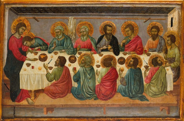 The Last Supper, Ugolino di Nerio