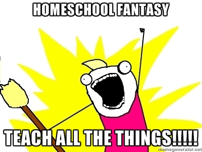 homeschool all the things